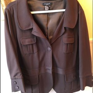 Size XL brown cute jacket